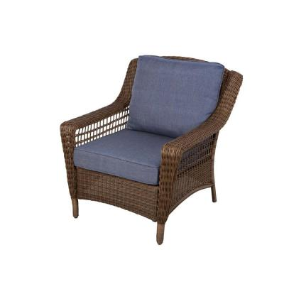 Wicker Chair - Back Porch Decorating