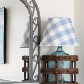 Custom lamp shades - The 2 Seasons