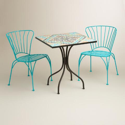 Square Cadiz Outdoor Bistro Table