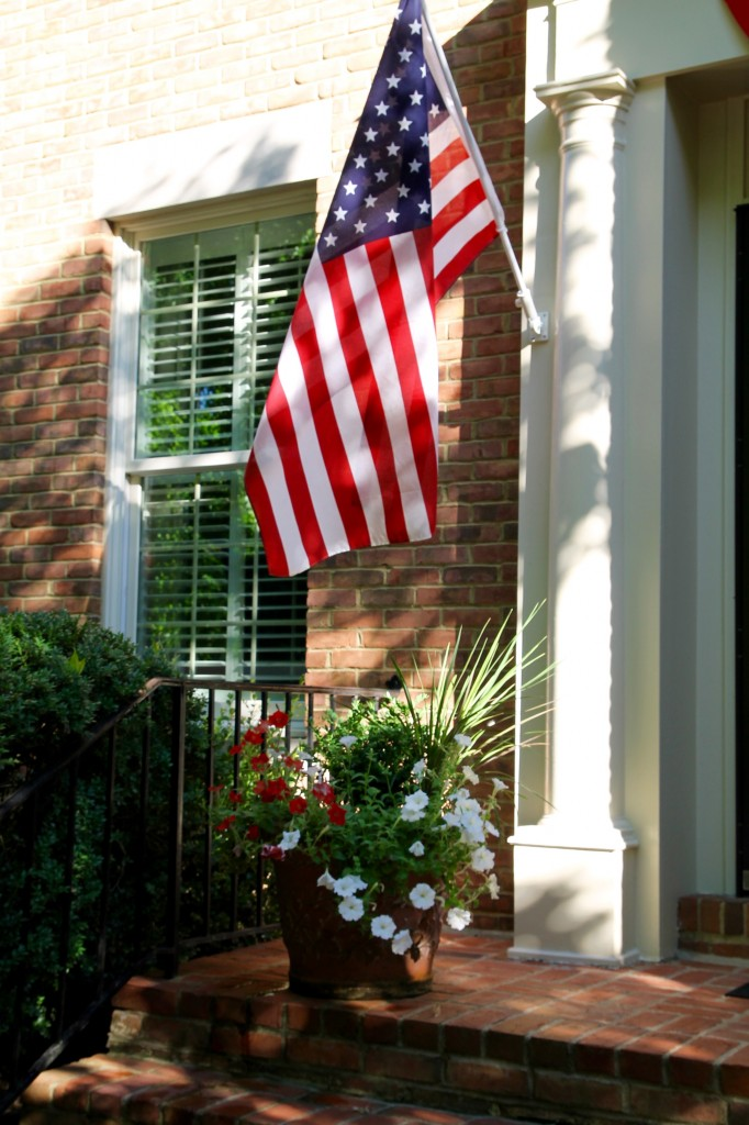 IMG 2837 682x1024 - Dressing the Exterior in Red, White, and Blue