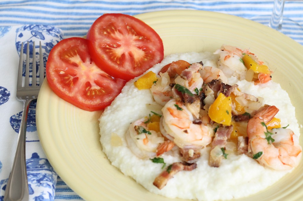 Shrimp and grits - The 2 Seasons