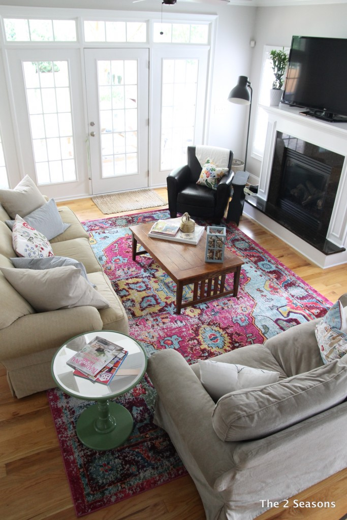 New living room rug - The 2 Seasons