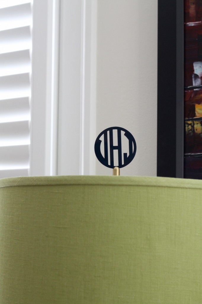 IMG 2989 682x1024 - Personalize a Lamp with a Monogrammed Finial