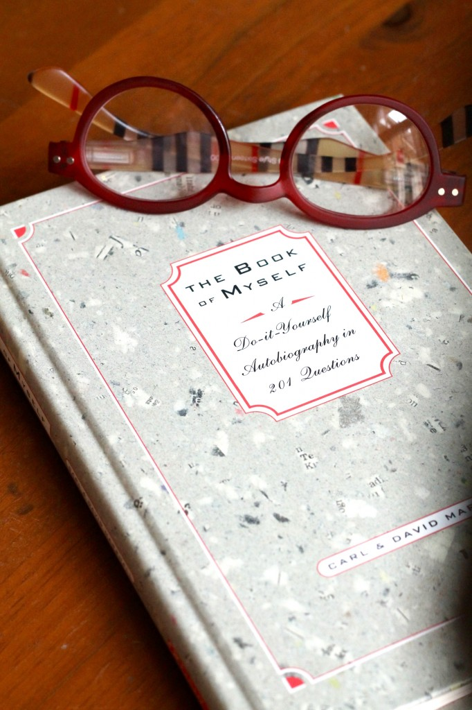 The Book of Myself - great gift to preserve memories for future family members.  Link in blog. - The 2 Seasons