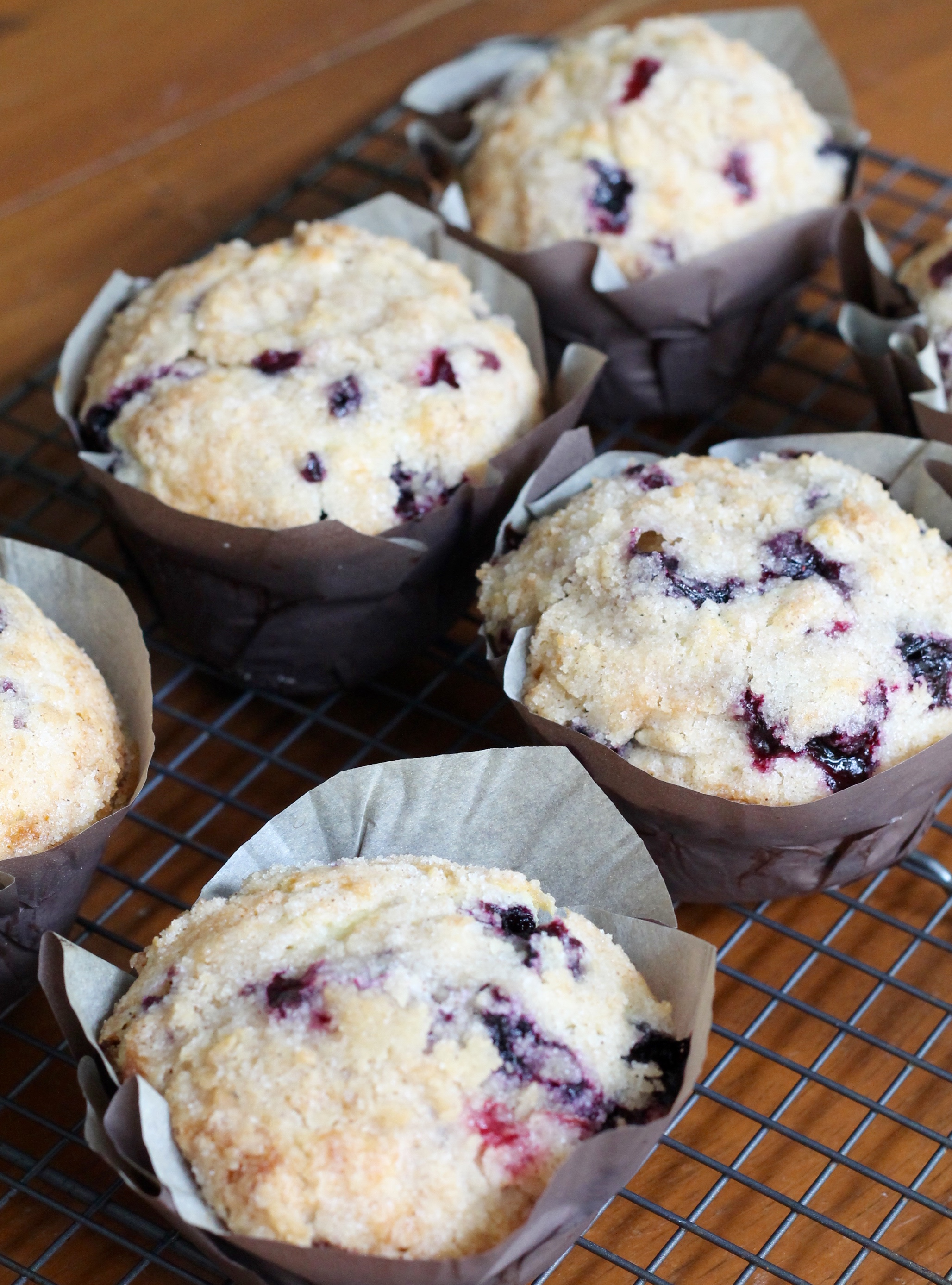 IMG 3035 - White Chocolate Blueberry Muffins Recipe