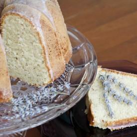 Lavender cake - The 2 Seasons