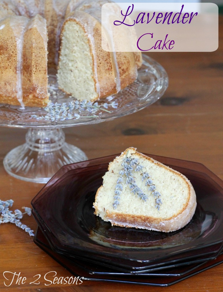Lavender cake - The 2 Seasons
