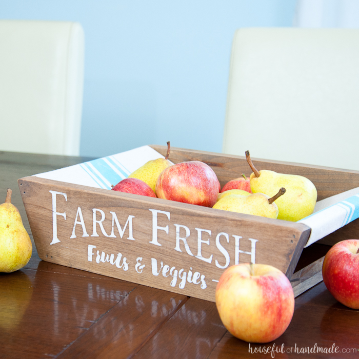 diy farmhouse style produce basket 6 - The Seasons' Saturday Selections