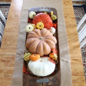 Fall in the Dining room - The 2 Seasons
