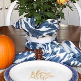 Fall tablescape - The 2 Seasons