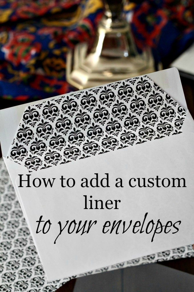Envelope pic 682x1024 - How to Customize Standard Envelopes