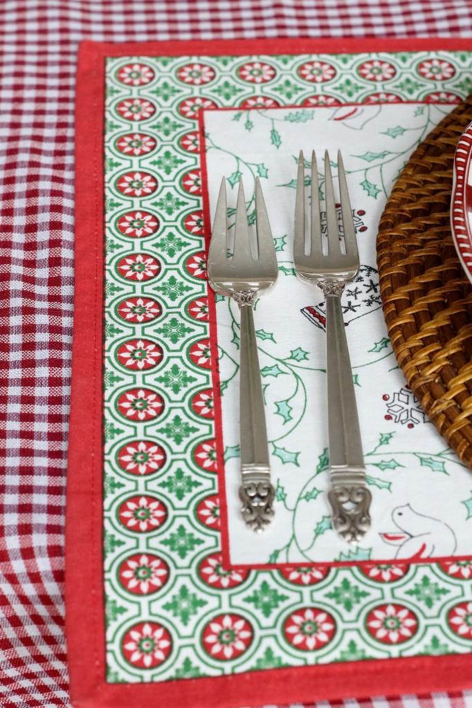Christmas table - The 2 Seasons