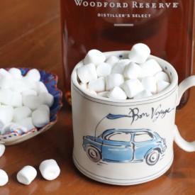 spiced bourbon hot chocolate - The 2 Seasons