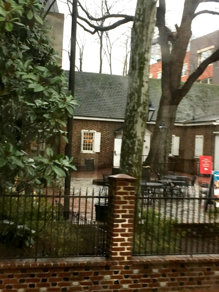 Philly - Betsy Ross's house - The 2 Seasons