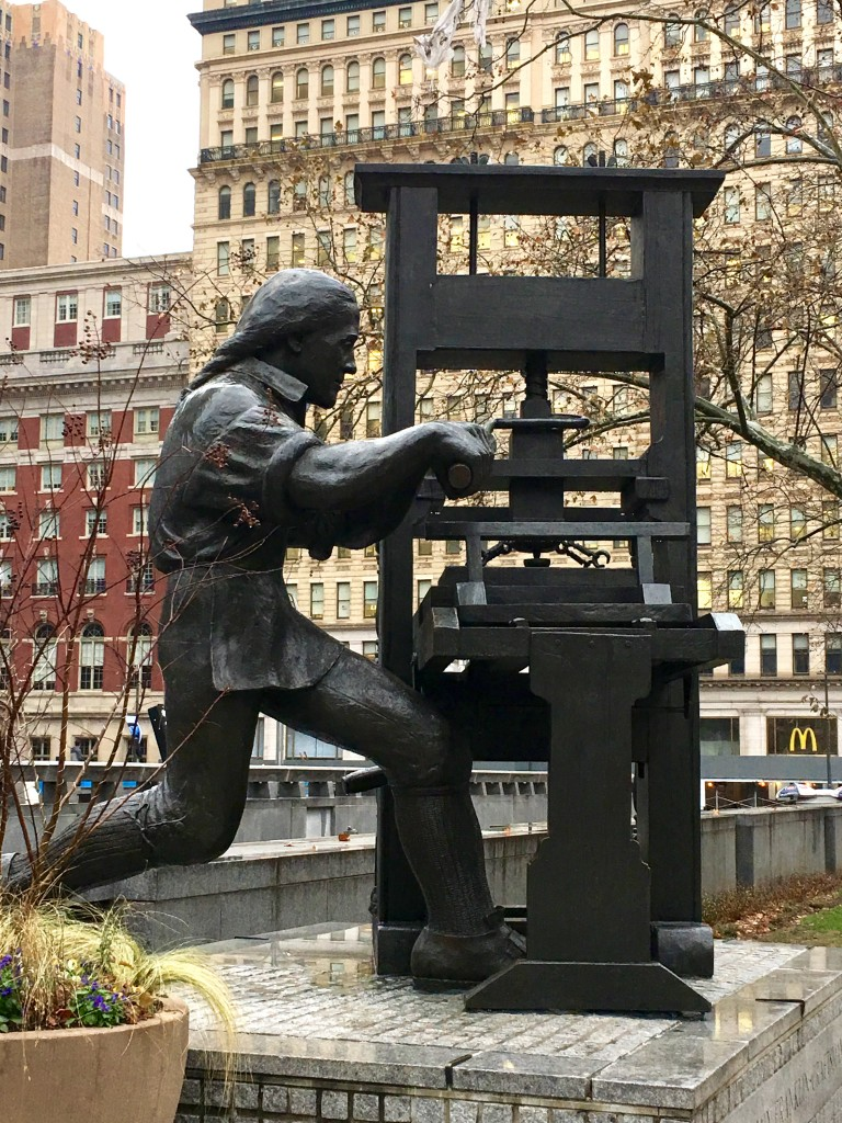 Philadelphia - Ben Franklin staute - The 2 Seasons