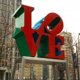 Philadelphia Love Sign - The 2 Seasons