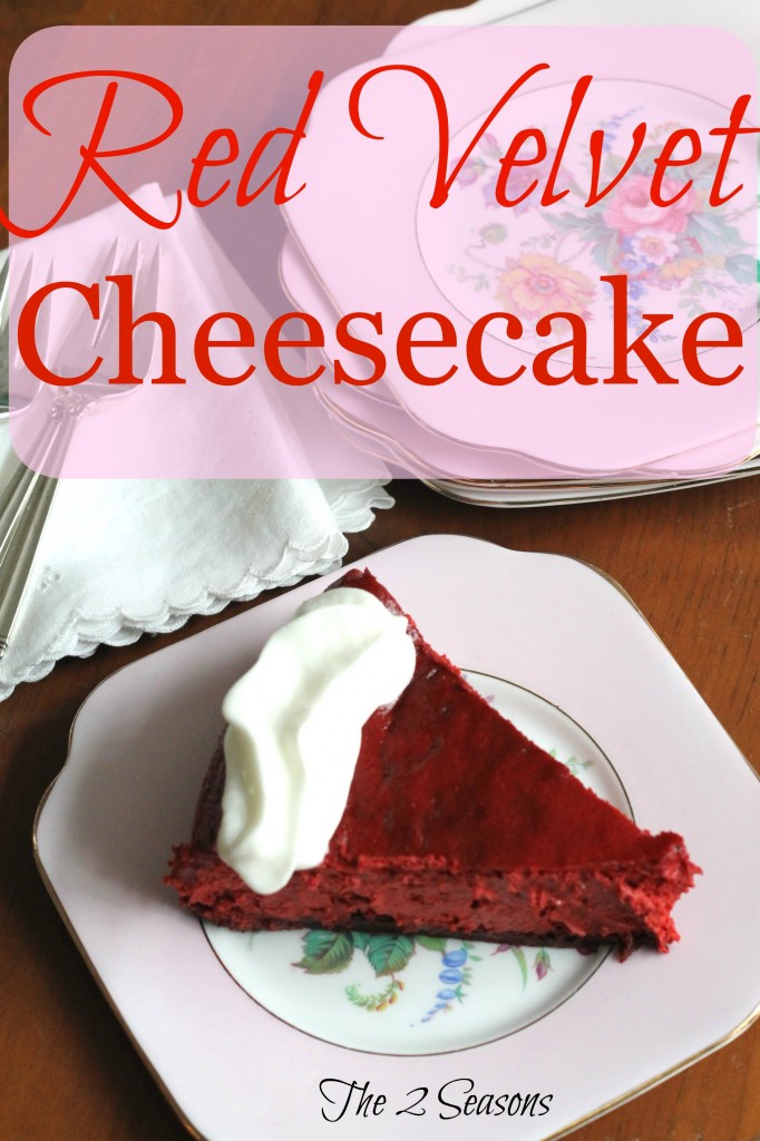 Red Velvet Cheesecake - The 2 Seasons