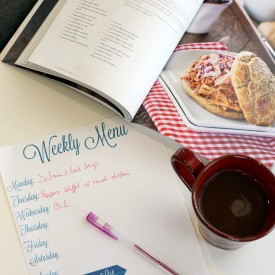 Meal Planning tips for your family.