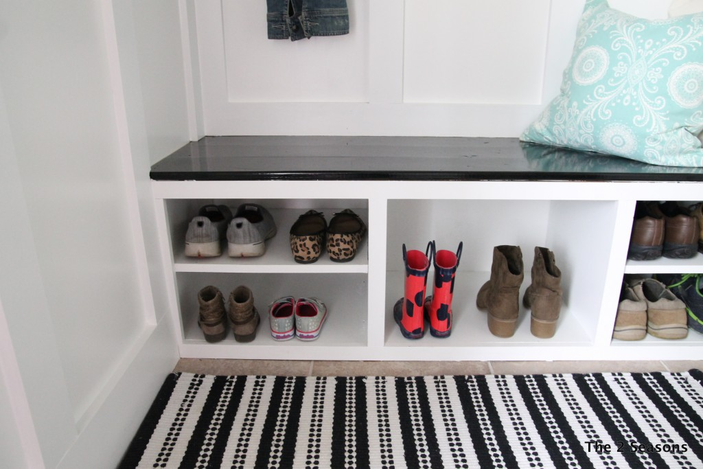 Mudroom from closet - The 2 Seasons