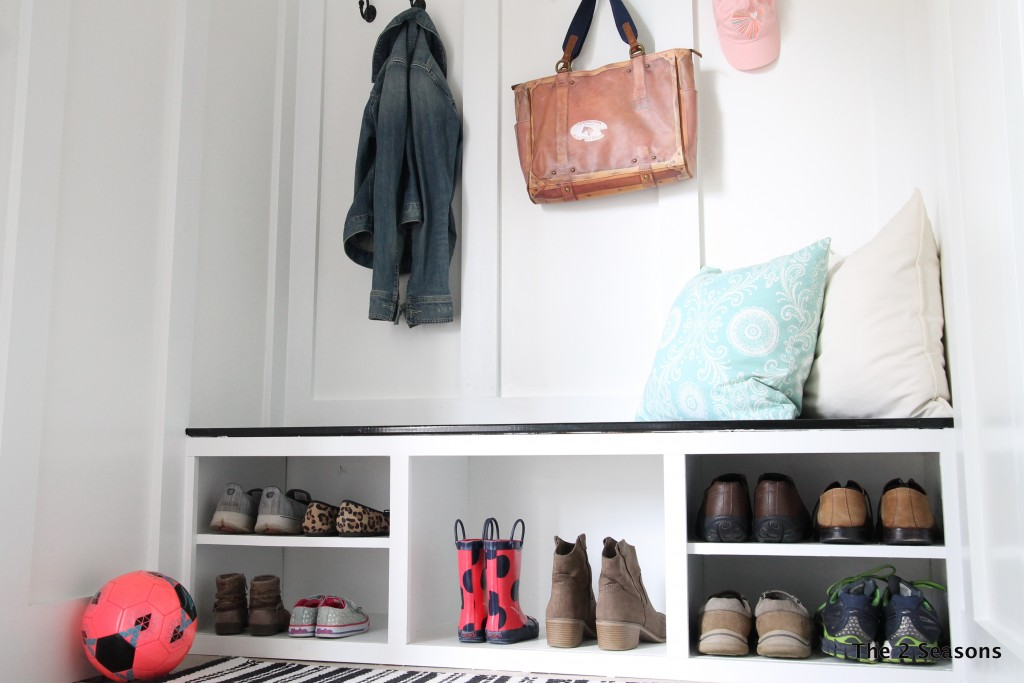 IMG 1336 1024x683 - The Closet Becomes a Mudroom - Revisited