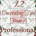 12 Decorating Tips from a Pro - The 2 Seasons