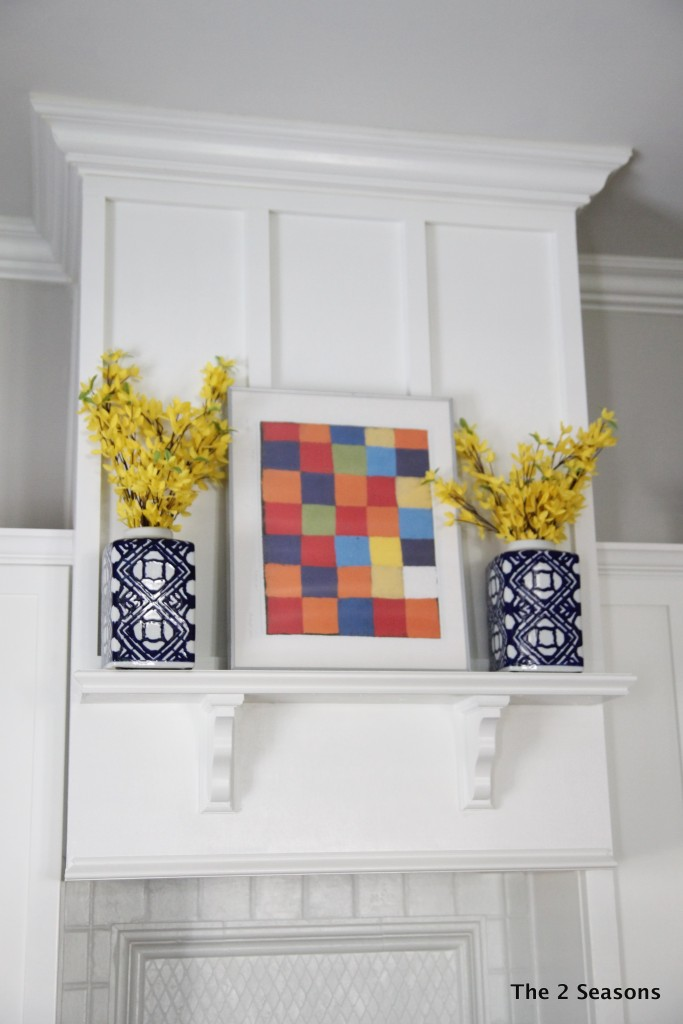 Spring Mantel for Kitchen