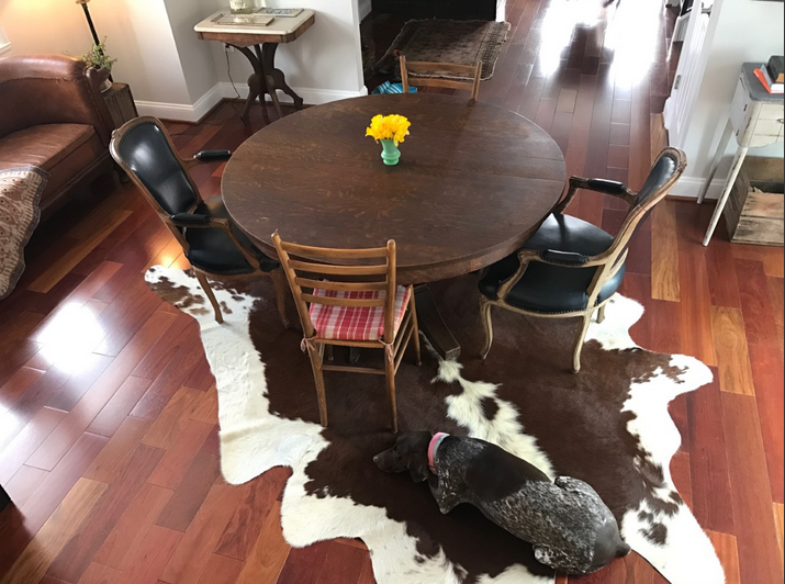 DC dining room gets a rug - The 2 Seasons