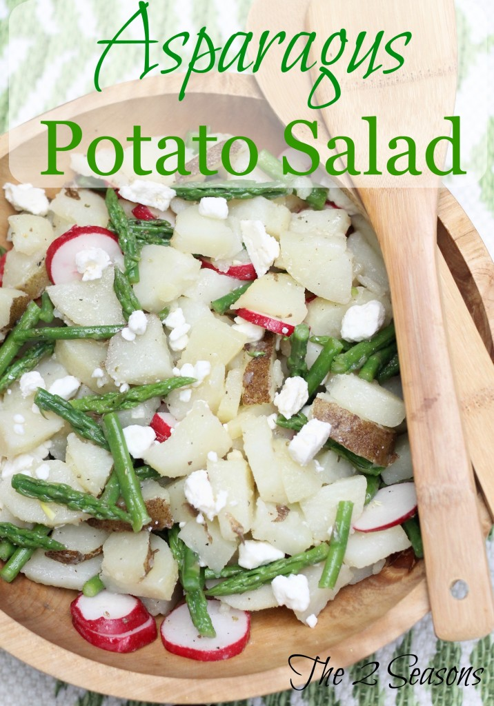 Asparagus Potato Salad - The 2 Seasons