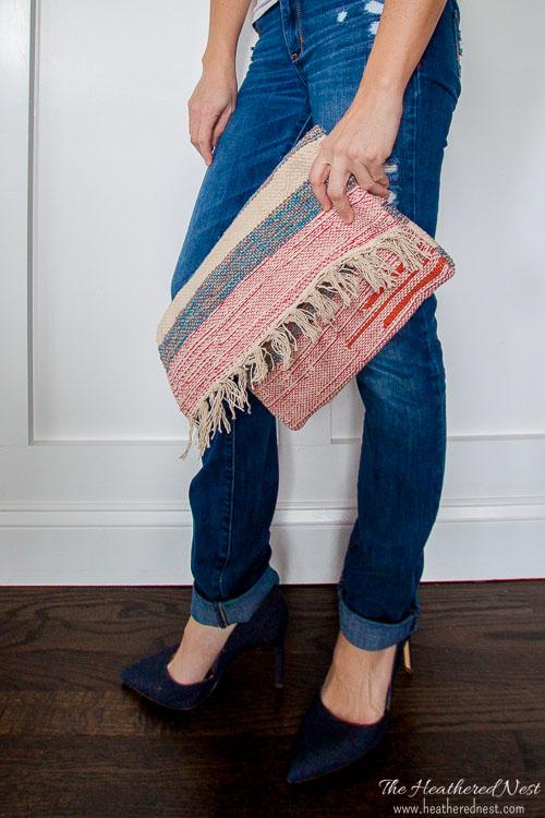DIY-clutch-carpet-bag-boho-handbag-heatherednest.com-1-3