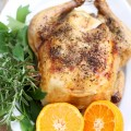 Delicious roasted chicken - the 2 Seasons