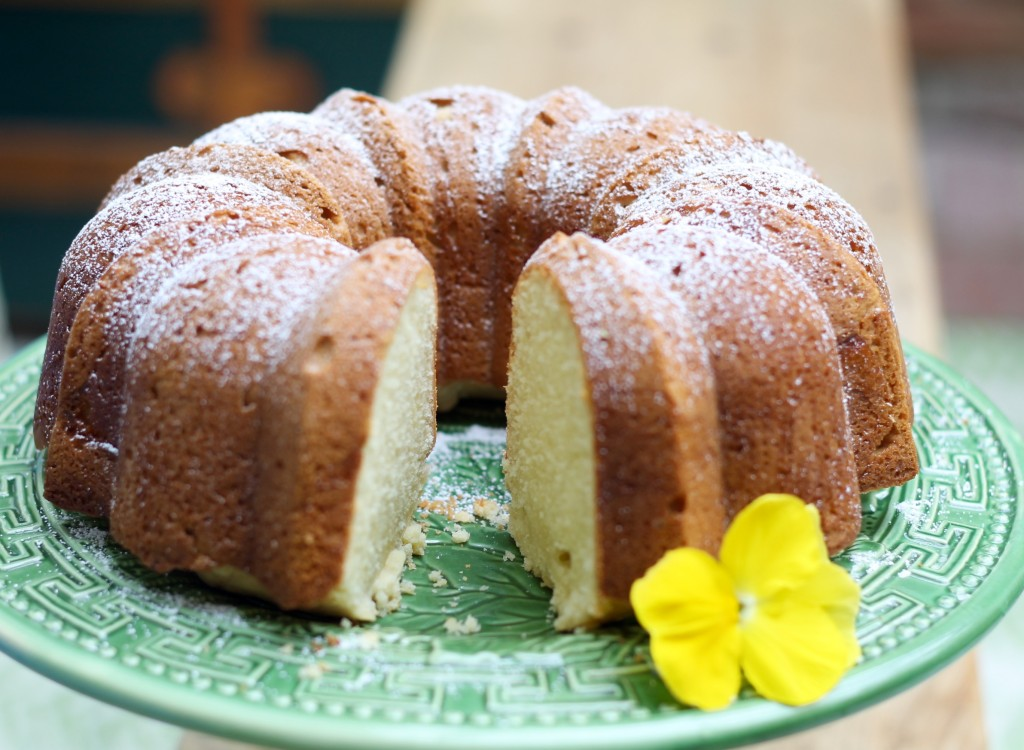 Classic Southern Pound Cake from Southern Living - The 2 Seasons