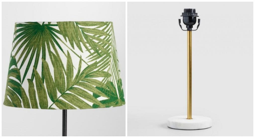World Market Lamp and Lamp Shade