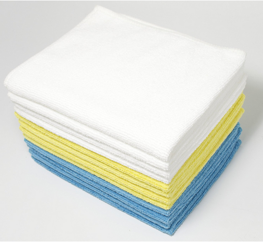 Microfiber cleaning cloths from Amazon