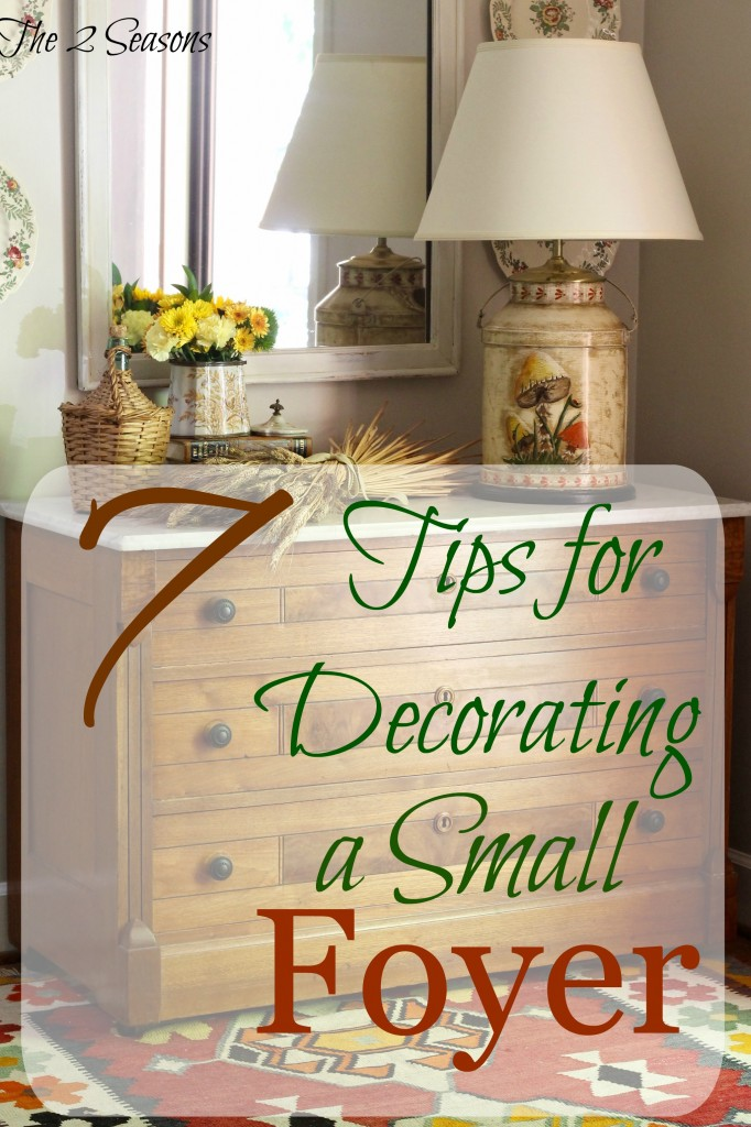 7 Tips for Decorating Foyer 682x1024 - Seven Tips for Decorating a Small Foyer