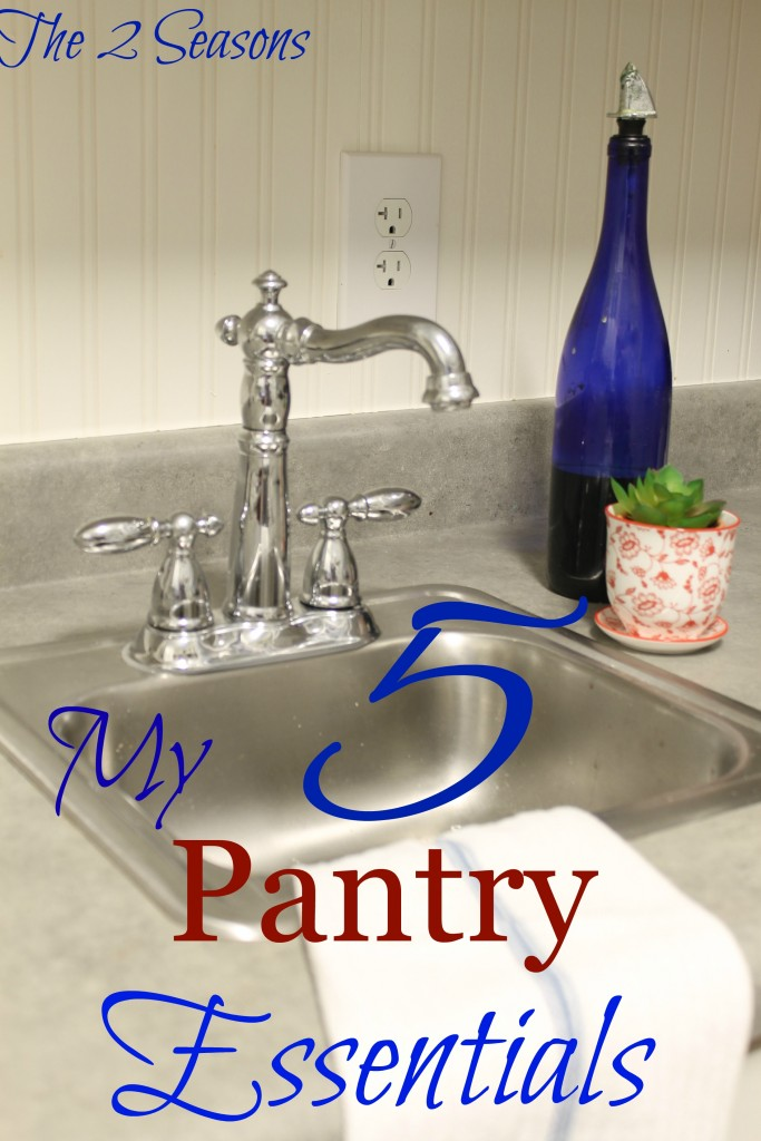 Pantry Essentials - The 2 Seasons