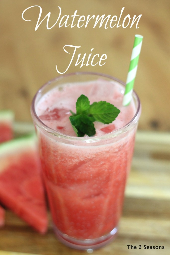 Watermelon Juice Recipe, perfect for a summer day.
