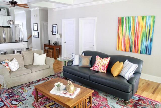 Oxford Sofa= Ethan Allen