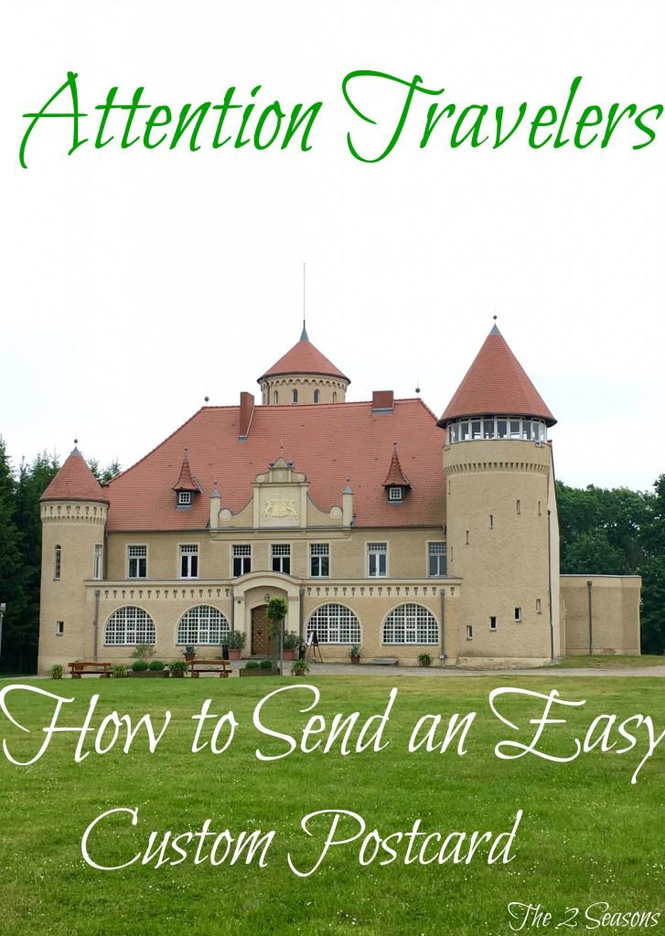 Four easy steps to create and send a custom postcard - The 2 Seasons