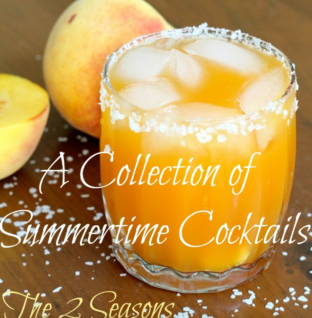 Summertime cocktails - The 2 Seasons