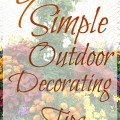 9 Simple Outdoor Decorating Tips 120x120 - Seven Tips for Decorating a Small Foyer