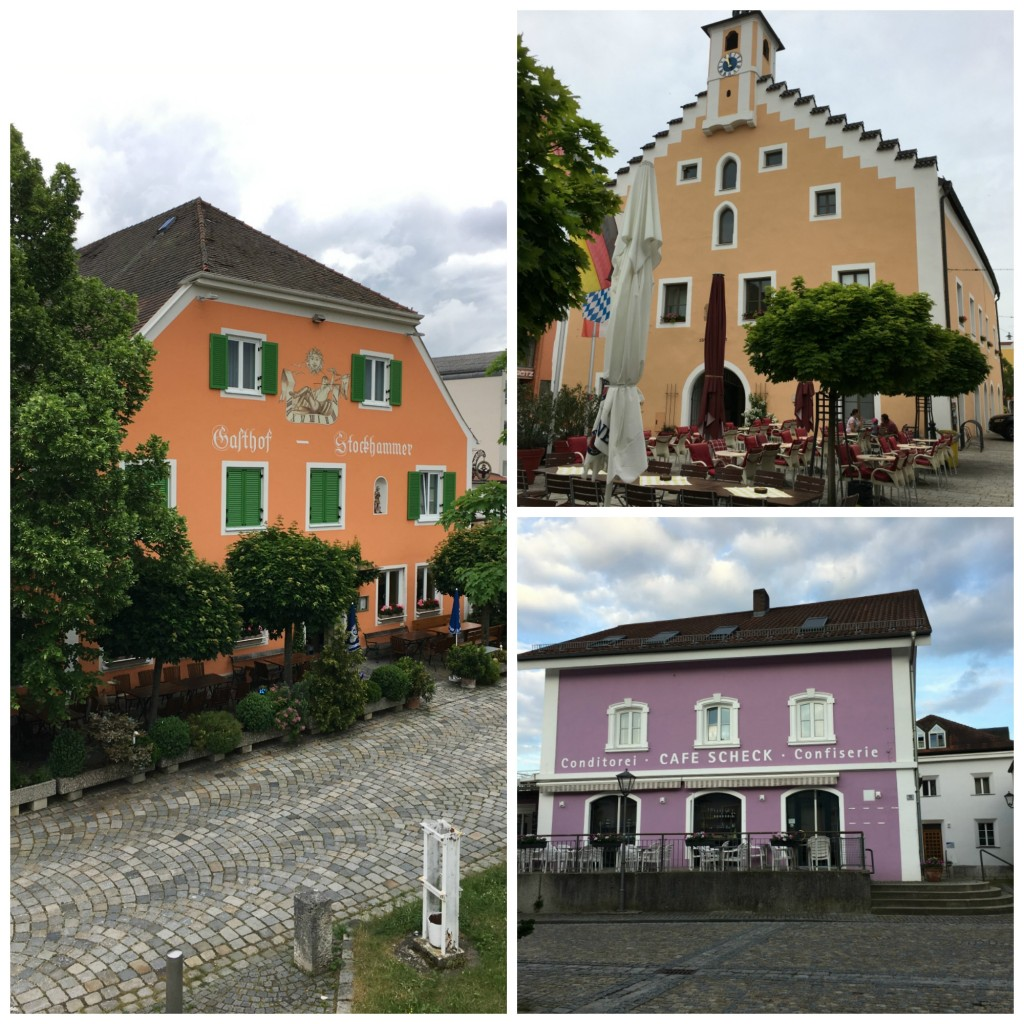 Bavarian pastel buildings - The 2 Seasons