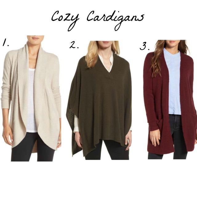 Cozy Cardigans