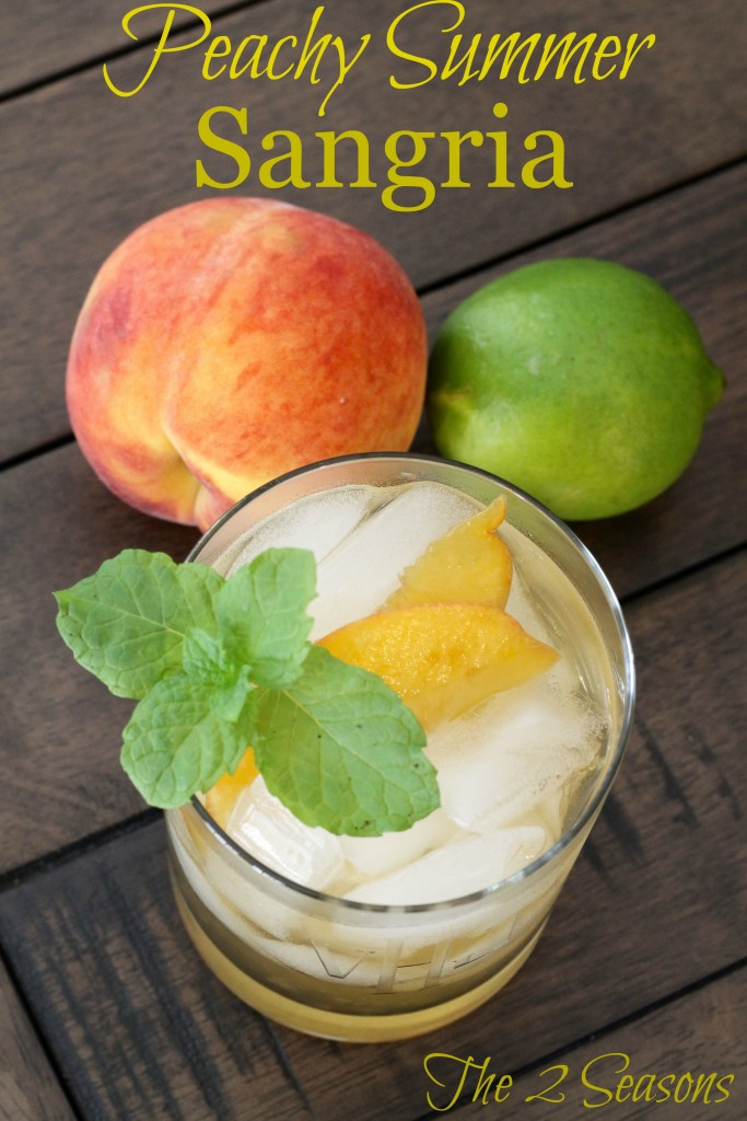 Peachy Summer Sangria 683x1024 - Your Cinco de Mayo Menu