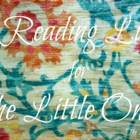 Reading List for Little Ones - The 2 Seasons