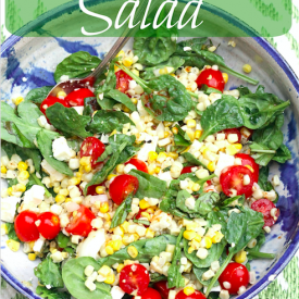 Corn and Tomato Salad - The 2 Seasons
