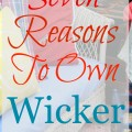 Seven Reasons to Own Wicker 120x120 - Make Your Home Magazine Worthy - Revisited