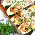 Stuffed Zucchini Boats - The 2 Seasons