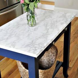 After island blog 275x275 - DIY Marble Top Kitchen Island