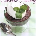 Easy Homemade Chocolate Pudding - The 2 Seasons