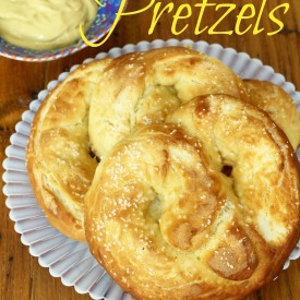 Homemade Pretzels - The 2 Seasons